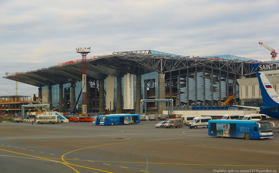 construction Pulkovo