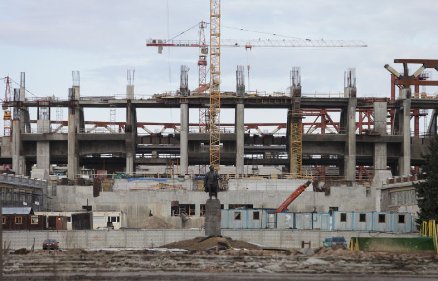 gazprom travaux avril 2012