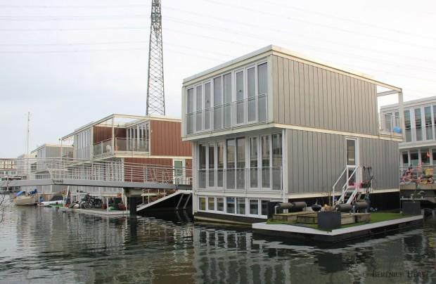 Logement social sur l'île de Steigereiland, Amsterdam