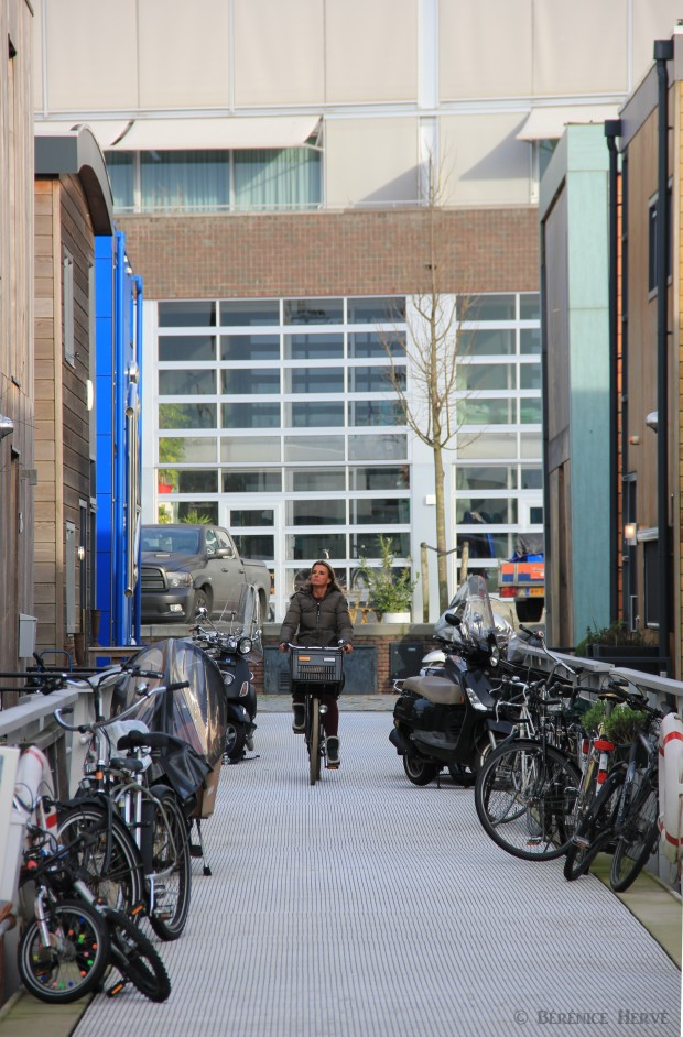 Espace public sur l'île de Steigereiland, Amsterdam