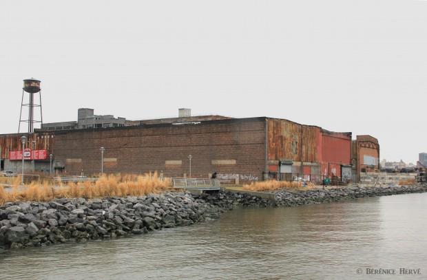 Réaménagement des berges de l'East River à Greenpoint, Brooklyn