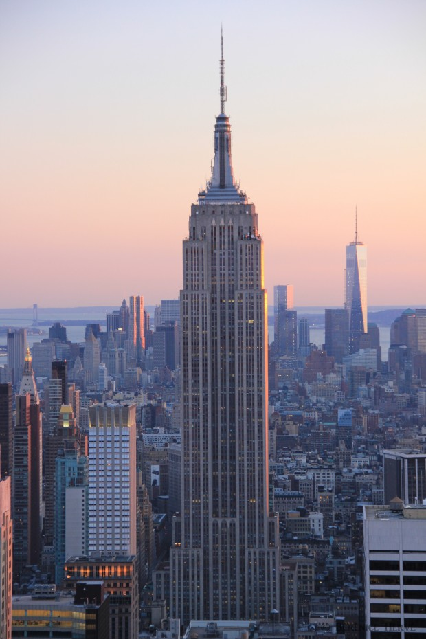 Empire state building et freedom tower, Manhattan