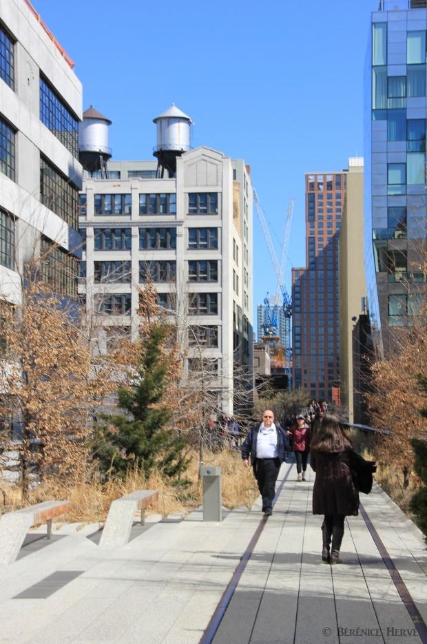 Promenade sur la high line, Manhattan