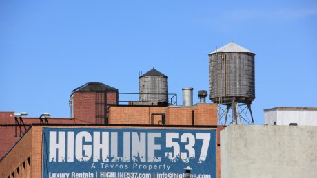 high line et immobilier, Manhattan
