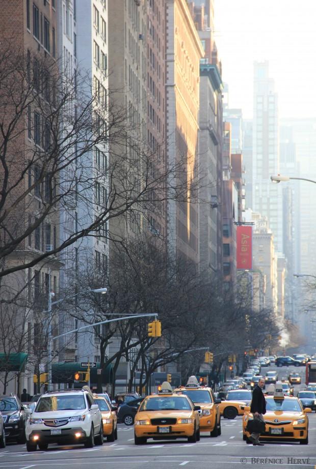 Taxis new yorkais sur park Avenue, Manhattan