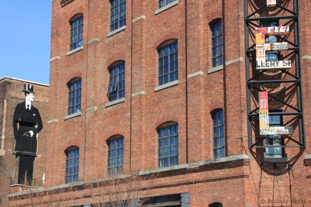 Wythe hotel dans le quartier de Williamsburg, Brooklyn