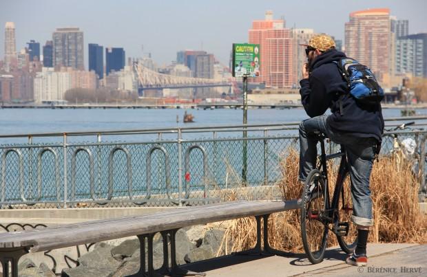 hispter de Greenpoint, Brooklyn