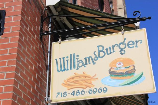 restaurant de burger à williamsburg, Brooklyn