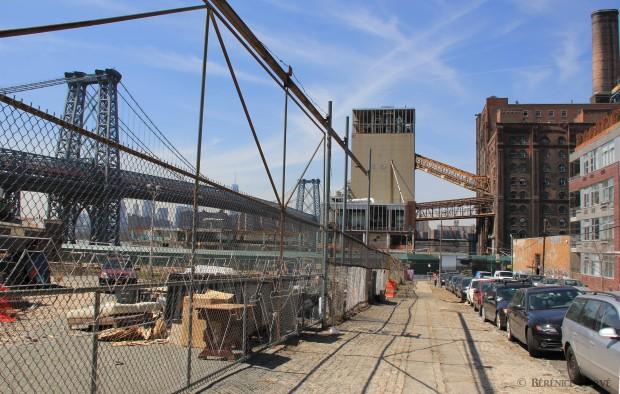 Parc éphémère sur le site de la raffinerie de sucre Domino, Brooklyn