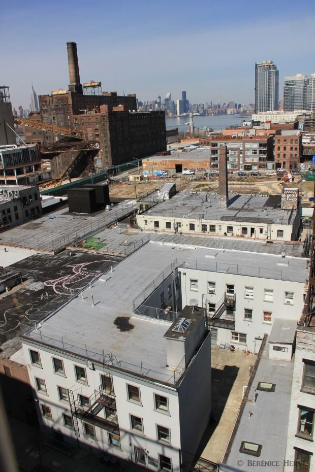 Raffinerie de sucre Domino, quartier de Williamsburg Brooklyn